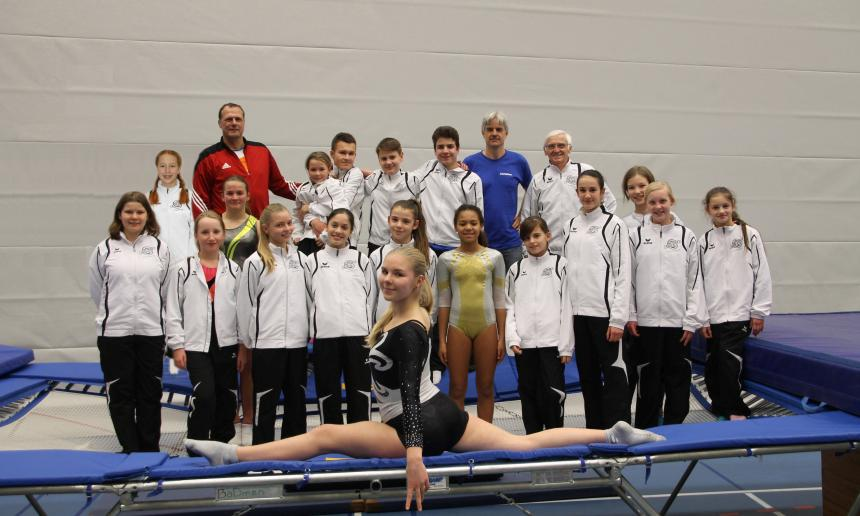Team TSV Trampolin 2017 kl